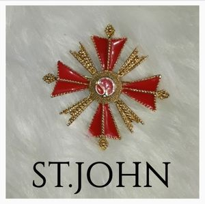 SAINT. JOHN BROOCH